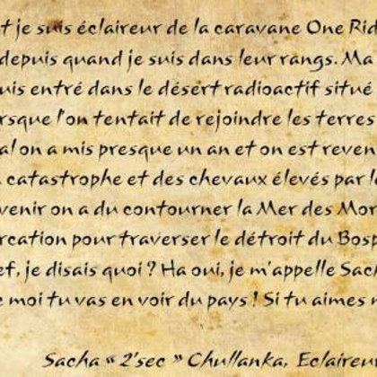 Paroles de survivants